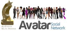 AVATAR SOCIAL NETWORK HAS WON THE AVICHOICE AWARDS 2015 as best Community website for Second Life