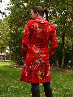 Biya embroidered jacket