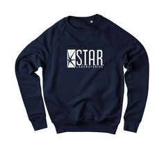 Star Laboratories Sweatshirt. GEEKY MUST HAVE.