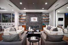 West Los Angeles Custom Home contemporary-living-room