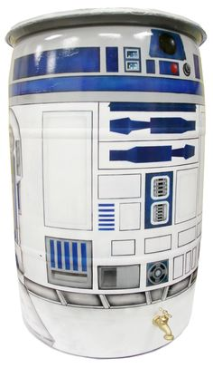 Droidtastic rain barrel. *bleep, boop, bloop* See even R2 agrees.