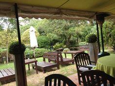 L'Auberge Hotel's tea room, Punta del Este, Uruguay