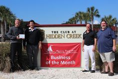 Congrats To The Navarre Chamberu0027s January Business Of The Month: The Club  At Hidden Creek