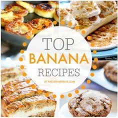 Top plátano maduro Recetas en the36thavenue.com PIN AHORA y hacerlos más tarde!