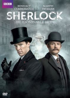 """Out on DVD is the Sherlock special """"The Abominable Bride."""""""