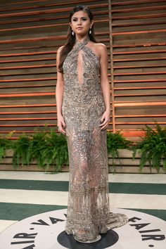 Oscars After-Party - Vanity Fair - Selena Gomez in Pucci