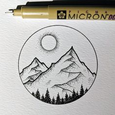 Dessin The Great Outdoors - micron pen drawing The Great Outdoors - m. - Art sketches - Dessin The Great Outdoors – micron pen drawing The Great Outdoors – m… - Dotted Drawings, Cool Art Drawings, Pencil Art Drawings, Art Drawings Sketches, Sketch Art, Tumblr Art Drawings, Drawing Designs, Tattoo Sketches, Tattoo Drawings