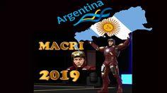 MACRI 4k Discurso de Campaña Política , Iron Man 2019 .