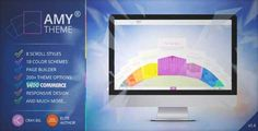 Download and review of AMY Theme - Creative Multi-Purpose WordPress Theme, one of the best Themeforest Creatives themes