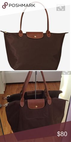 Brown Longchamp tote perfect condition Longchamp Bags Totes Longchamp  Taschen, Posh Love, Totes, edb1db5dbc