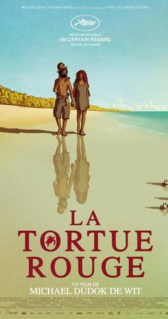Directed by Michael Dudok de Wit. The dialogue-less film follows the major life stages of a castaway on a deserted tropical island populated by turtles, crabs and birds.