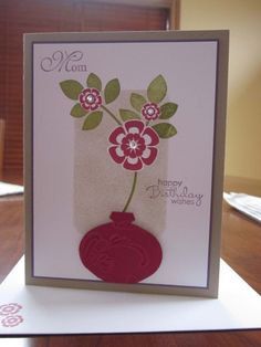 I have this Xmas decoration punch - looks great as a vase!