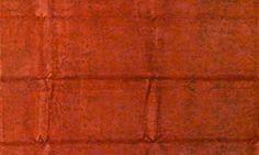 Oranger Orient Teppich  by KISKAN PROCESS HAMBURG, Orientteppich, gefärbter Teppich, Wohnzimmer, vintage, orient, muster, Wohneinrichtung, Vintage Teppich, rug, carpet, orange