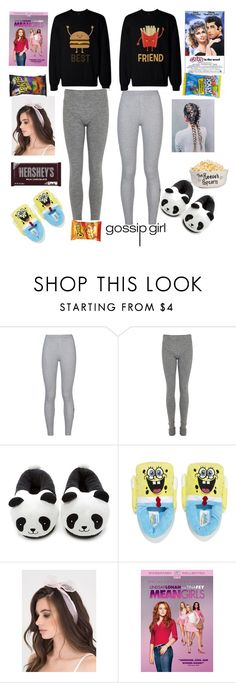 """Movie Night with my BFF"" by leilani-875 ❤ liked on Polyvore featuring NIKE, Acne Studios, Forever 21, Hershey's and Hard Candy"