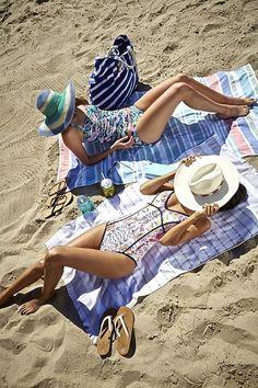 Beach day. everything fabfound @marshalls. beach style, summer style