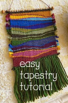 Twining Between Shapes - Woodlands Weaving Kit can find Weaving and more on our website.Twining Between Shapes - Woodlands Weaving Kit Weaving Textiles, Weaving Art, Weaving Patterns, Tapestry Weaving, Loom Weaving, Hand Weaving, Knitting Patterns, Stitch Patterns, Fabric Weaving