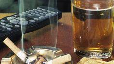 「英國癌症研究」慈善組織所公布的最新數據顯示:吸煙和喝酒是最易致癌的不良生活習慣。(翻攝自Happening)