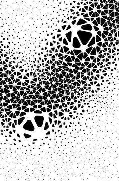 Znalezione obrazy dla zapytania parametric cut out Geometric Patterns, Graphic Patterns, Geometric Designs, Geometric Art, Textures Patterns, Graphic Design, Op Art, Pattern Art, Pattern Design