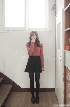 Find images and videos about fashion, kfashion and korean fashion on We Heart It - the app to get lost in what you love. Ulzzang Fashion, Kpop Fashion, Girl Fashion, Fashion Looks, Fashion Outfits, Womens Fashion, Japanese Fashion, Asian Fashion, Skirt Outfits