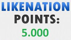 I will give you a #Likenation account with over 5.000 Points within 3-5 days. You can use these points to get Youtube, Twitter, Facebook and more services...  Check it out here: http://digesale.com/jobs/internet-marketing/i-will-give-you-likenation-account-with-over-5000-points/
