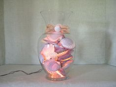 NANTUCKET SCALLOP SHELL Night Light  A by MaidenNantucket on Etsy, $85.00