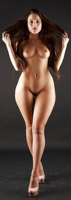 Bent thighs nude