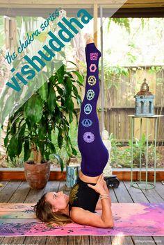 The Chakra Series: Vishuddha - Pin now, read later! Ashtanga Yoga, Vinyasa Yoga, Yin Yoga, Yoga Inspiration, Pilates, Vishuddha Chakra, Become A Yoga Instructor, Advanced Yoga, Basic Yoga