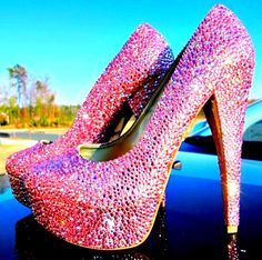 Not sure I'd ever have somewhere to wear these outside the Las Vegas strip but they are still cute!