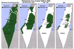 "map-story-of-palestinian-nationhood--""Propaganda is so successful that most Americans probably do not know that Israel, a country of 8 million, is occupying 4.5 million stateless Palestinians. Many of the things Clinton is complaining about in the Middle East are the result of her policies (mostly the same as AIPAC policies). And when the West Bank explodes in hot civil war, that will be a result of her policies, too."""