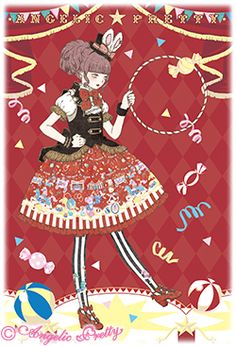 Angelic Pretty official site - Fantasy Theater - Illustration:今井キラ.