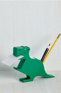 This memosaurus desk organizer ($9). | 27 Absurdly Cute Gifts That No One Could Resist