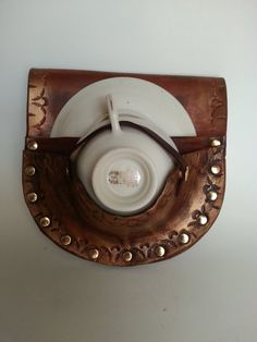 Tea Dueling Leather Teacup Holster by JAFantasyArt on Etsy