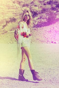 Boho summer style for a day at the beach