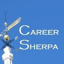 Career Sherpa logo with link to article