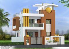 House Main Gates Design, Single Floor House Design, House Outside Design, 2 Storey House Design, Bungalow House Design, House Front Design, Small House Exteriors, Modern House Facades, Residential Building Design