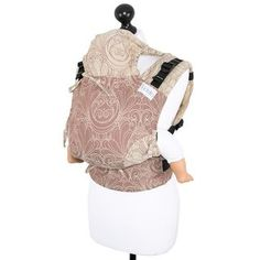 Baby size: Fidella Fusion baby carrier with buckles  Gloria -bronze-