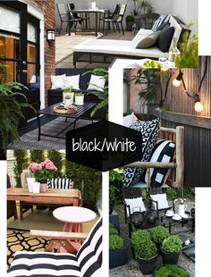Patio And Outdoor Furniture Ideas And Types – The Homeward View Outdoor Deck Decorating, Diy Outdoor Furniture, Outdoor Rooms, Outdoor Gardens, Outdoor Living, Outdoor Decor, Kids Furniture, Outdoor Ideas, Gazebo