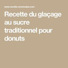 Recette du glaçage au sucre traditionnel pour donuts