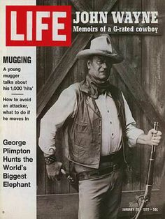 John Wayne - Life Magazine [United States] (28 January 1972)
