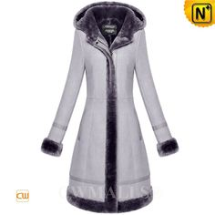 CWMALLS® Womens Shearling Hooded Coat CW652117 CWMALLS shearlinng coat for women crafted from natural Merino sheepskin with shearling, warm hooded long shearling coat in shearling trim hood, front zip closure,exposed shearling trim placket,hem and cuffs, and keeps you warm and pretty all season long. www.cwmalls.com PayPal Available (Price: $1695.89) Email:sales@cwmalls.com
