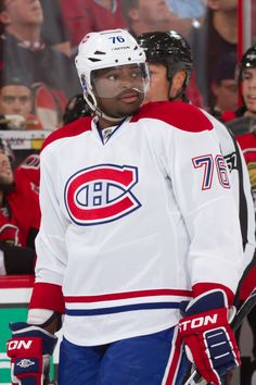 Pk Subban, Montreal Canadiens we will miss u *sob* Hockey Stuff, Hockey Teams, Hockey Players, Montreal Canadiens, Nhl, Boston Bruins Hockey, Team Activities, Sport Icon, National Hockey League