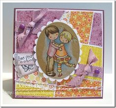 Card by Dorcas (Design Team) Whimsy and Stars Studio, rubber stamps and digital stamps.