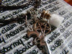 Supernatural Hunter Inspired Necklace di FollowTheGrace su Etsy