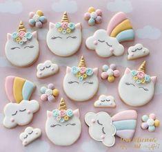 Resultado de imagen para galletas de unicornio