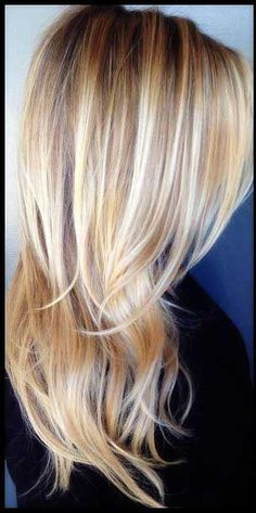 Love this color & I may just try this cut on my next trip to the hair salon