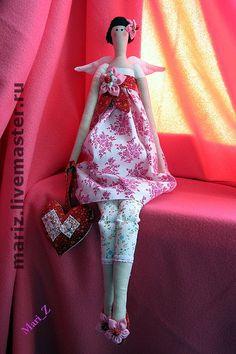 Куклы Тильды ручной работы. Ярмарка Мастеров - ручная работа Сделаю куклу на заказ. Handmade.