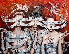 Surrealism, surreal art, surrealist © Catherine Alexandre. More: www.ohsosurreal.com