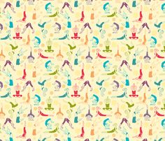 Fun Workout fabric by oksancia on Spoonflower - custom fabric