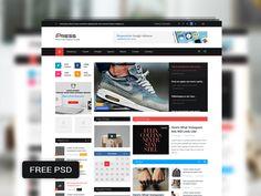 iPress Magazine & Blog Template