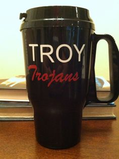 Troy Trojans Sound of the South 16 oz by JustABrushAndPaint, $10.00
